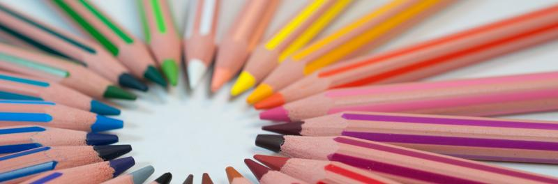Color pencils in the Classroom