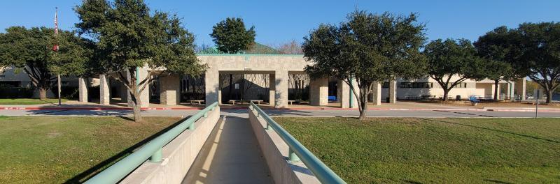 Front view of Stinson Middle School