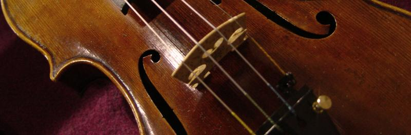 Picture of a violin.