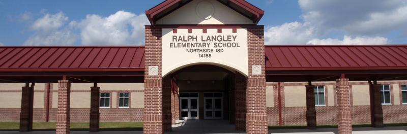 Front of Langley Elementary School