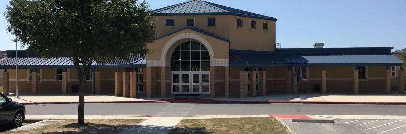 Front view of Jefferson Middle School