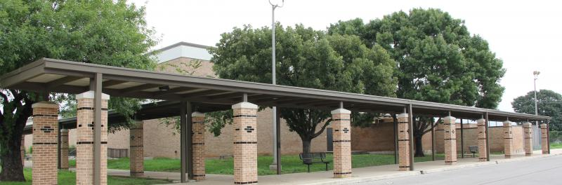 Front of jones middle school