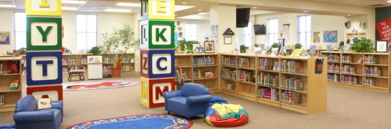Picture of Kuentz Elementary School Library