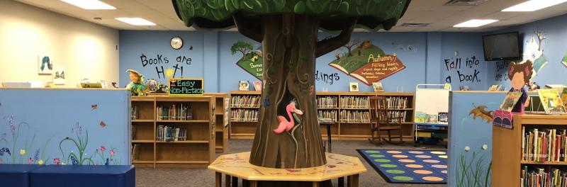 Photo of Mireles Elementary Library