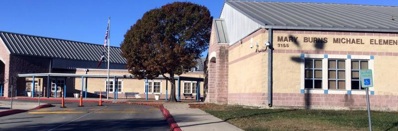 Front of Michael Elementary