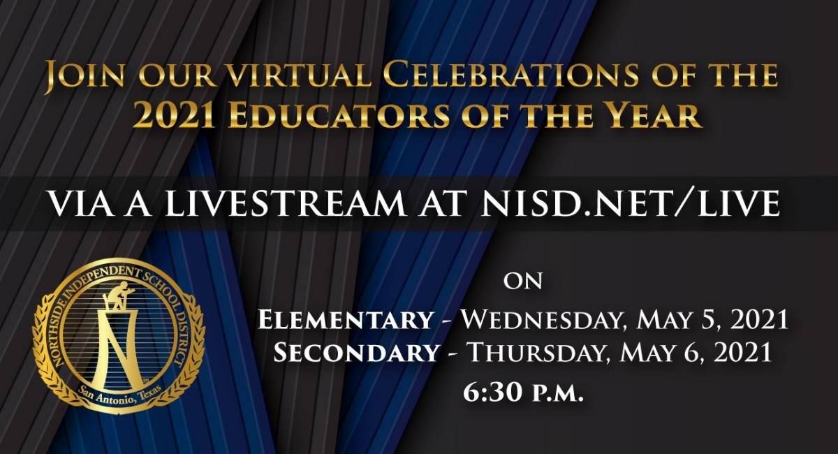 A virtual celebration for our Educators of the Year