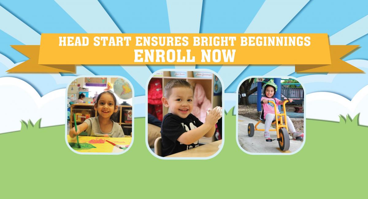 Head Start ensures bright beginnings, enroll now