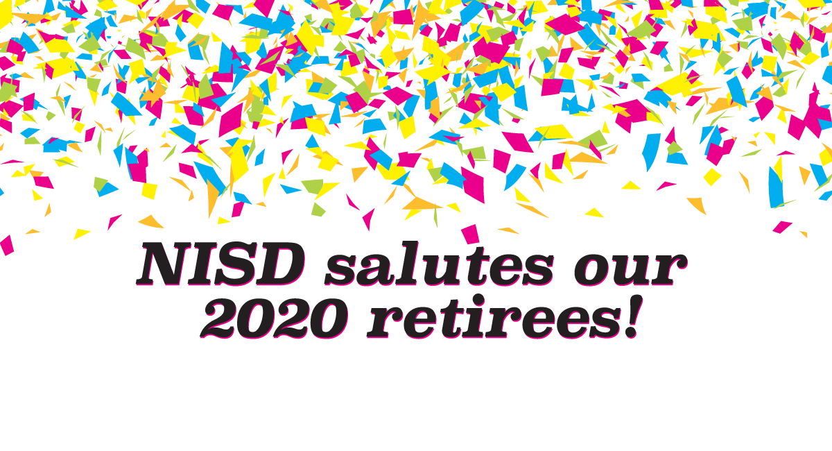 NISD salultes our 2020 retirees