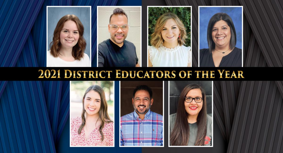 2021 District Educators of the Year
