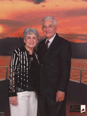 Raul B. Fernandez and wife Sylvia