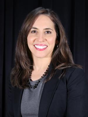 Portrait of the Principal, Belinda Flores.