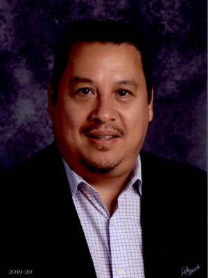 Portrait of Lawrence Carranco, The Principal of Hobby Middle School