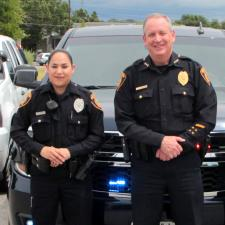 NISD Officers smiling