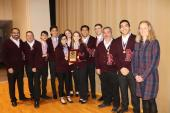 Marshall High School Academic Decathlon Team - 1st place