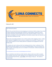 Luna connects page 1