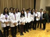Health Careers High School Academic Decathlon Team - 2nd place