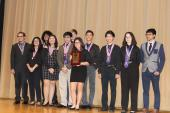 Warren High School Academic Decathlon Team - 3rd place