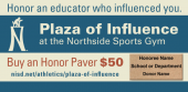 Pavers honor those who positively influenced students