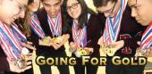 Three NISD AcDec teams advance to state