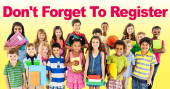 Parents are reminded to complete the registration process