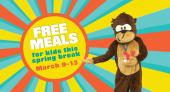 Free Meals for kids this spring break March 9-13
