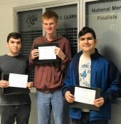 Clark National Merit Finalists