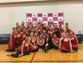 Harlan HS Silver Dazzlers Dance Team