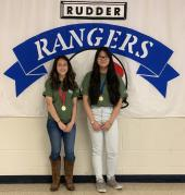 Rudder MS students advance to National History Fair