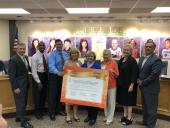 Dr. Woods and seven trustees sign Declaration of Respect
