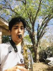 Taft saxophone player
