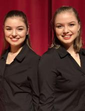 Taft HS – Katie Bulen and Faith Bulen